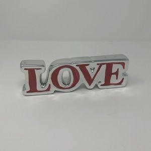 Love Word Decoration